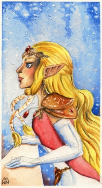 Zelda_It__s_Snowing